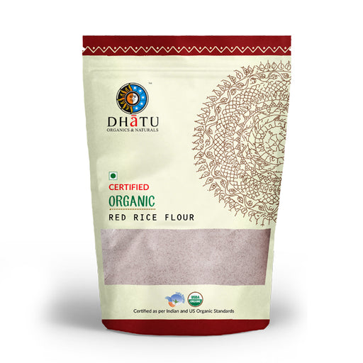 Organic Red Rice Flour - Stone Ground