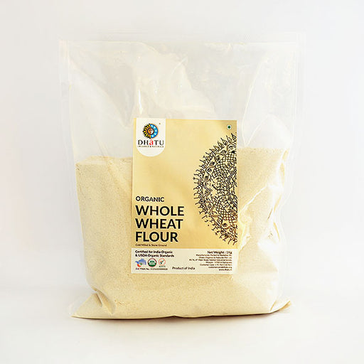Organic Whole Wheat Flour - Stone Ground