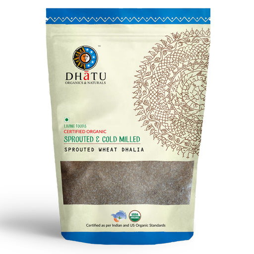 Organic Sprouted Wheat Dhalia