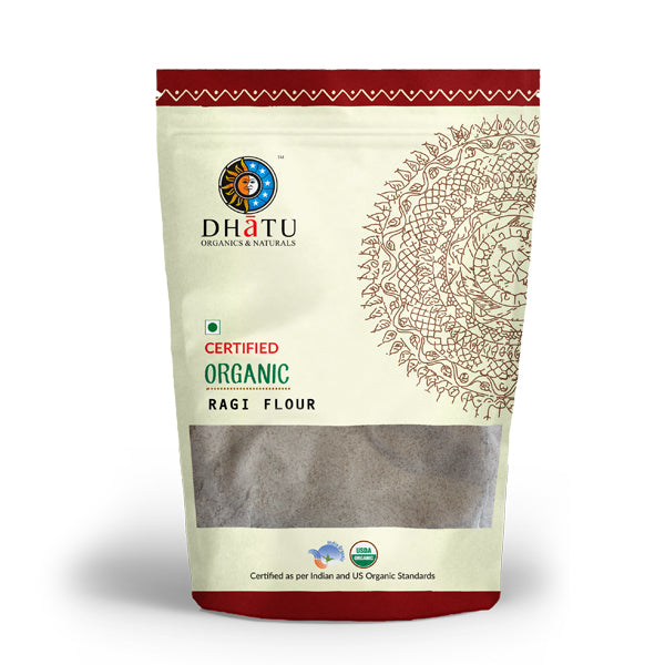Organic Ragi Flour - Stone Ground
