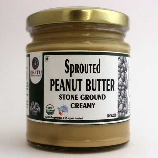 Organic Sprouted Peanut Butter