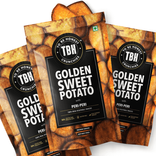 Golden Sweet Potato Chips