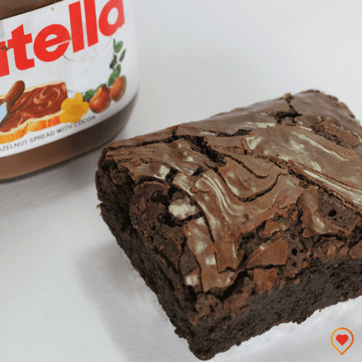 Eggless nutella