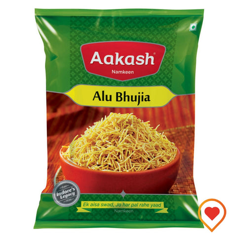 Alu Bhujia by Aakash Namkeen, Indore - Buy Online at foodwalas.com