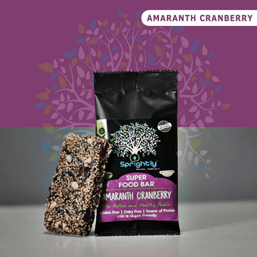 Amaranth Cranberries Bar