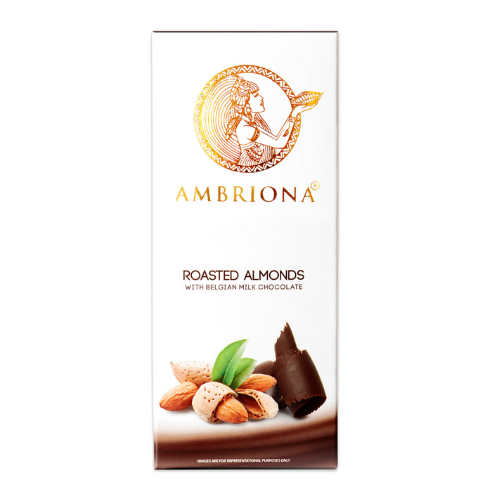 Ambriona - Roasted Almond with Belgian Milk Chocolate