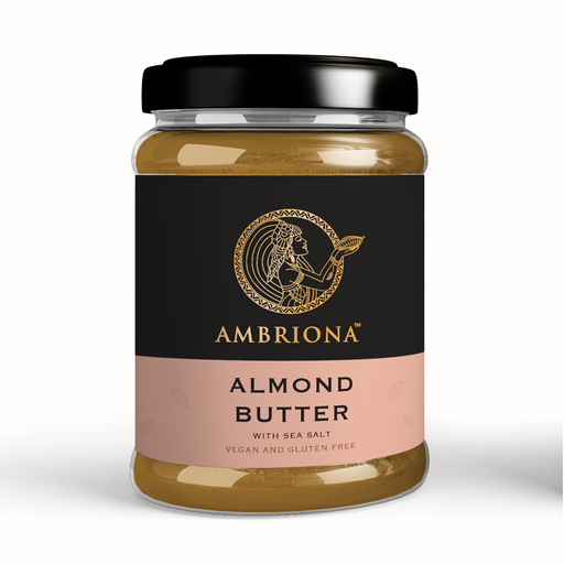Ambriona Almond Butter with Sea Salt -  All Natural Creamy