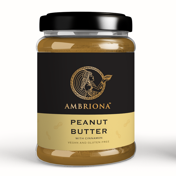 Ambriona - Peanut Butter with Cinnamon - All Natural Creamy