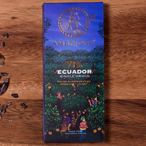 Ambriona - Single Origin Ecuador 71% Dark Chocolate