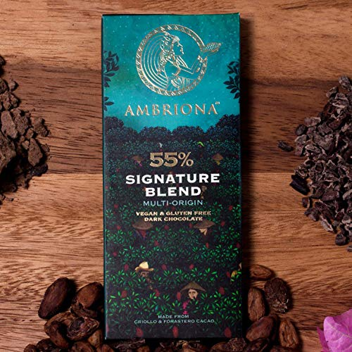 Ambriona - Signature Blend Multi Origin 55% Dark Chocolate