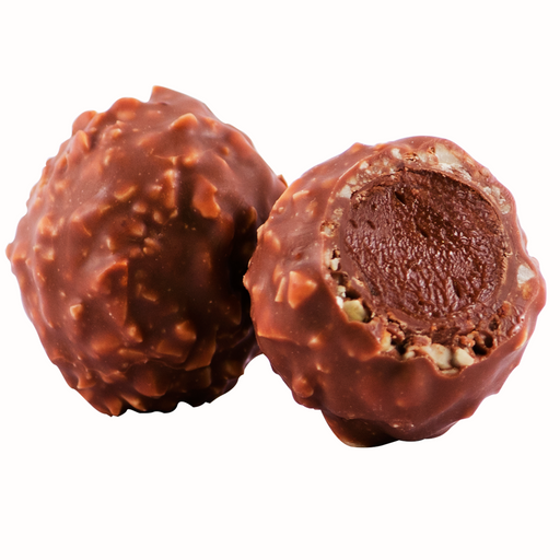 Ambriona Truffle - Hazelnut Gianduja with Milk Chocolate, (Box of 12)