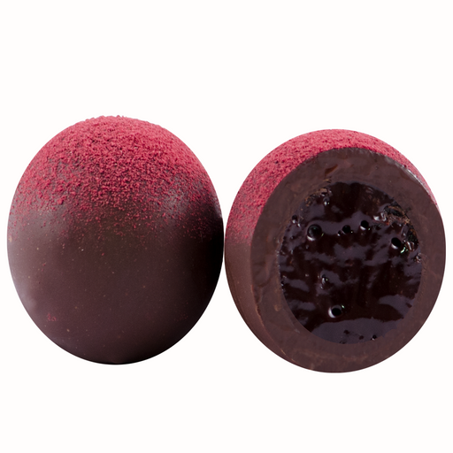 Ambriona Truffle - Raspberry Ganache, (Box of 12)