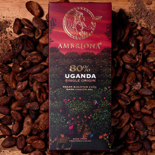 Ambriona - Uganda Single Origin 80% Dark Chocolate