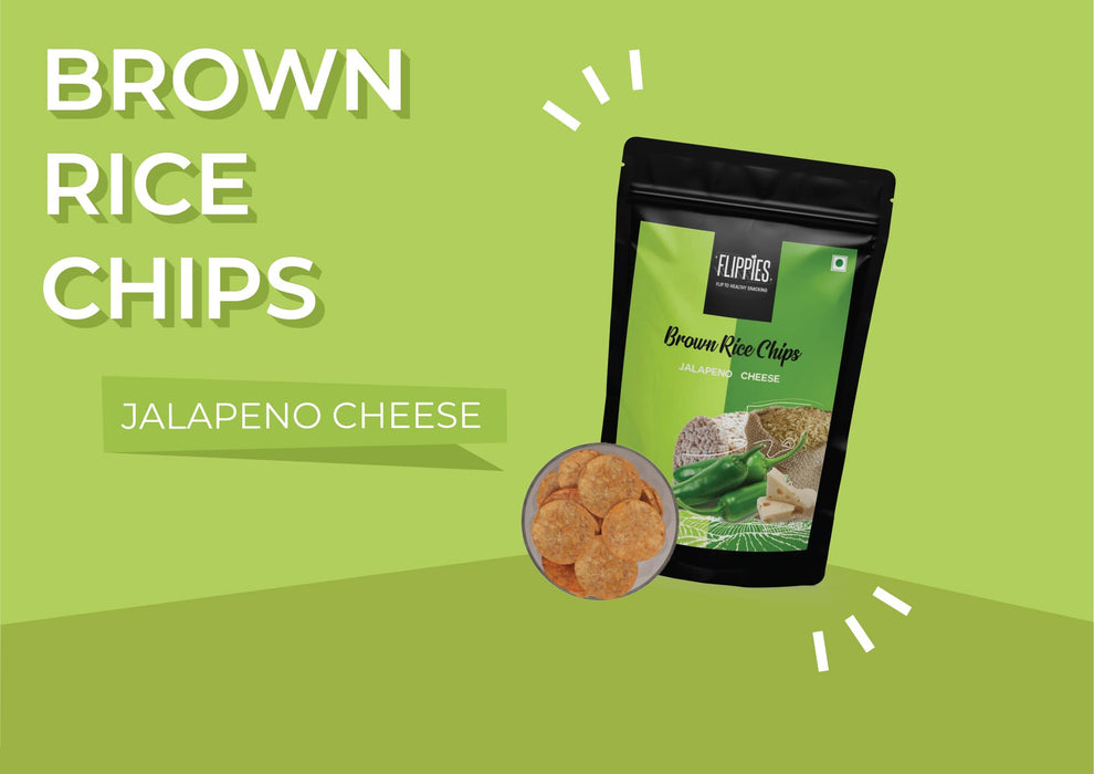 Brown Rice Chips Jalapeno Cheese