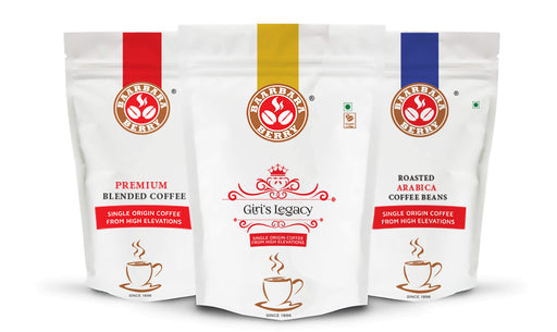 Premium Filter Coffee, Blended Giri's Legacy & Roasted Arabica Coffee Beans
