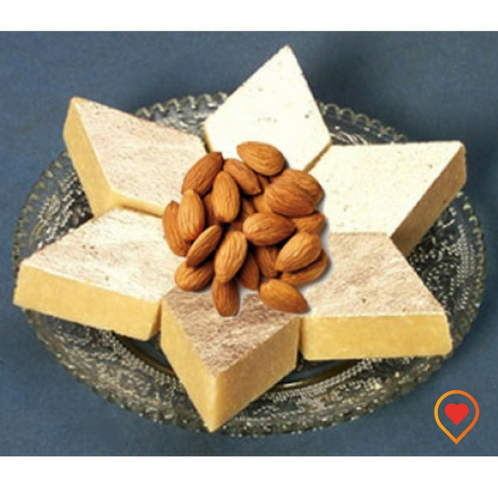 The scrumptious badam burfi is a delicious sweet made with almonds and enriched with healthy benefits