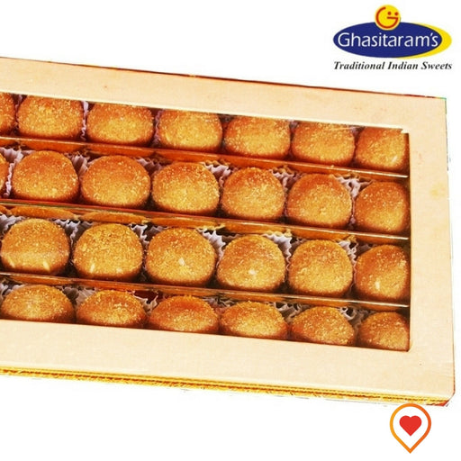 Besan ladoos are a rich, sweet dessert-snack made from gently roasted besan. Ladoos can be served any time of the day. Traditionally in Indian households ladoos are served as cookies and chocolate candies are served elsewhere