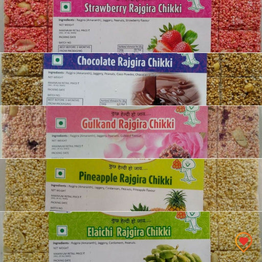 Rajgira (Amaranth) contains twice the amount of calcium as milk and is rich in Magnesium. Major ingredient in making rajgira chikki is jaggery. Jaggery contains iron in high proportion. Dunk it in milk or eat as a desert