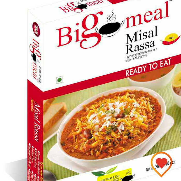 Bigmeal Ready to Eat Misal Rassa 285 g (Pack of 2) - Foodwalas.com
