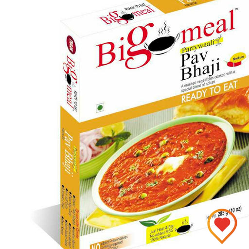 Ready to eat 'Pav Bhaji'-(285 g, Pack of 2)
