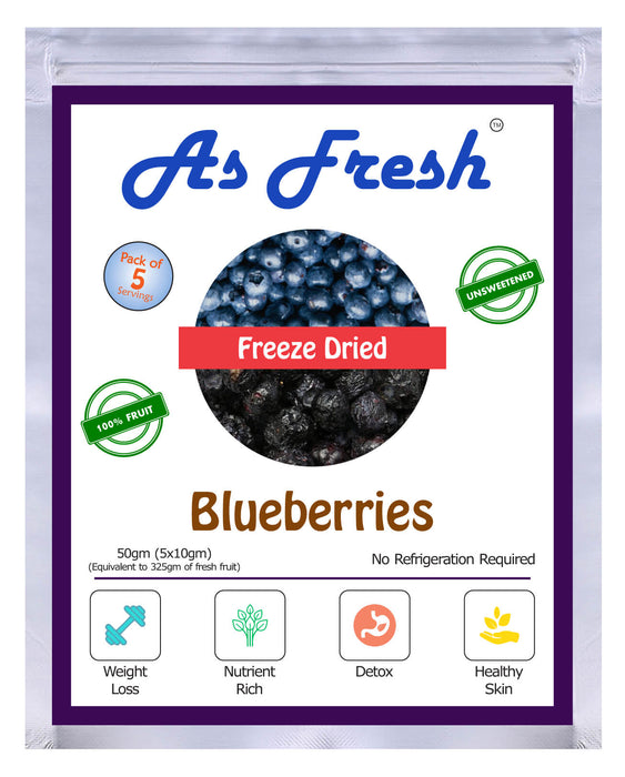 Freeze dried Blueberries, 50g