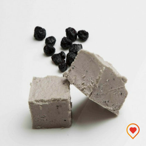 European blue berry made into a soft truffle with pieces of real blueberry - foodwalas.com