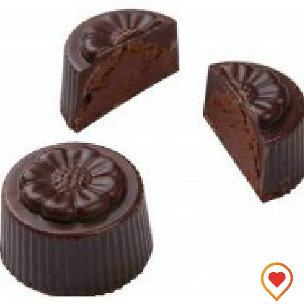 Smooth Chocolate ganache with hint of Chilli- foodwalas.com