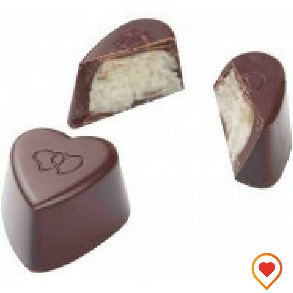 Tender coconut blended with cream & coated with rich dark Chocolate - FOODWALAS.COM