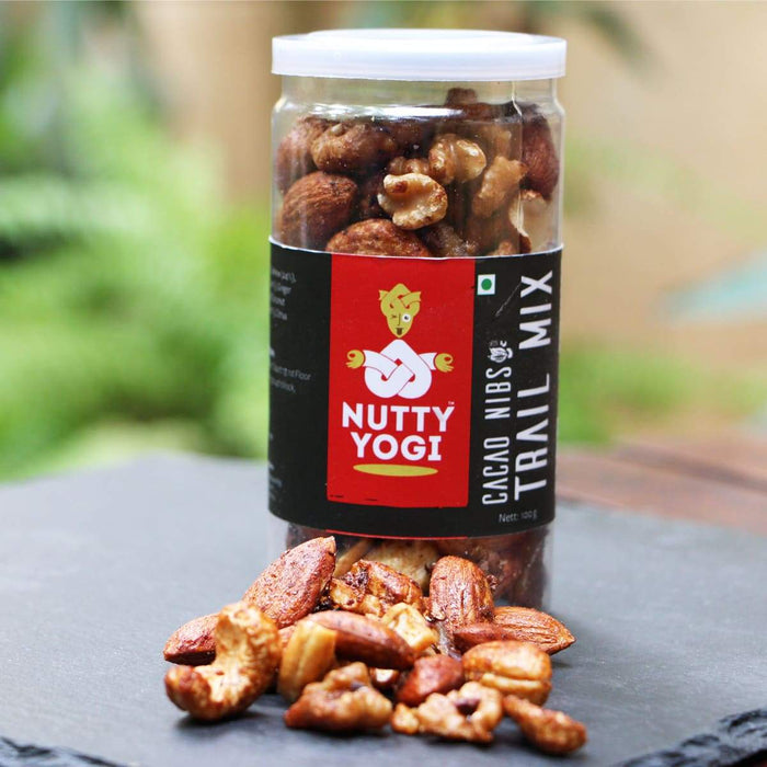 Cacao Nibs and Nuts Trail Mix