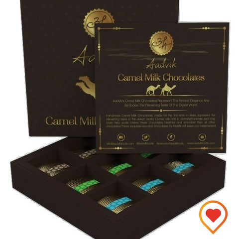 Aadvik Camel Milk Chocolate - Foodwalas.com