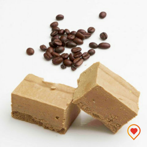 A soft creamy preparation made of sugar, butter ,white Chocolate and Cappuccino Coffee