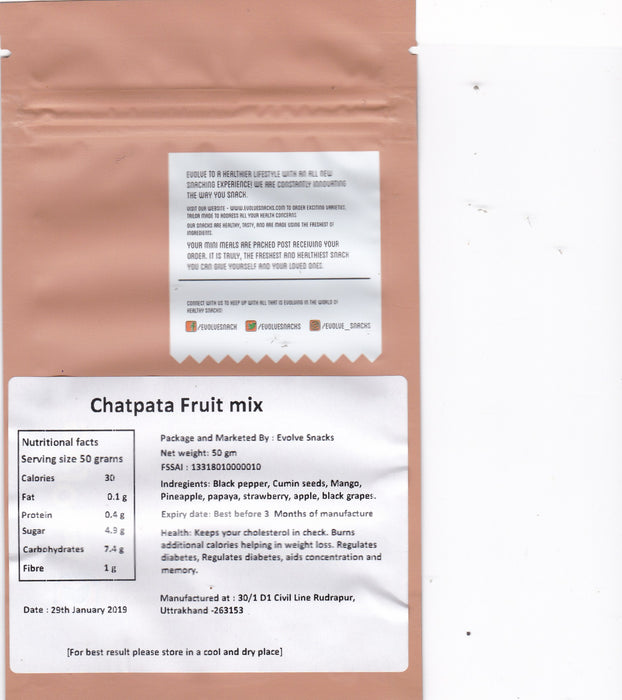 Chatpata Fruit Mix