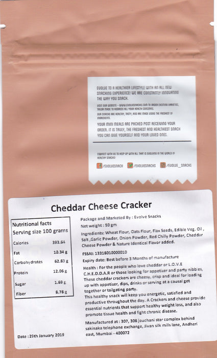 Cheddar Cheese Cracker