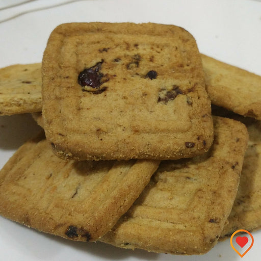 Cranberry Biscuits (150 g, Pack of 3) - Foodwalas.com