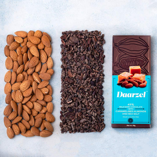 Daarzel - Caramalised Almonds & Sea Salt