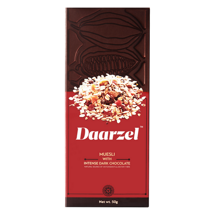 Ambriona Daarzel - Intense Dark Chocolate with Granola Health Bar