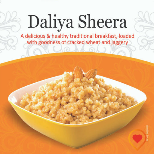 Bigmeal Ready to Eat Daliya Sheera - Foodwalas.com