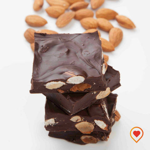 Dark Almond chocolate - Foodwalas.com