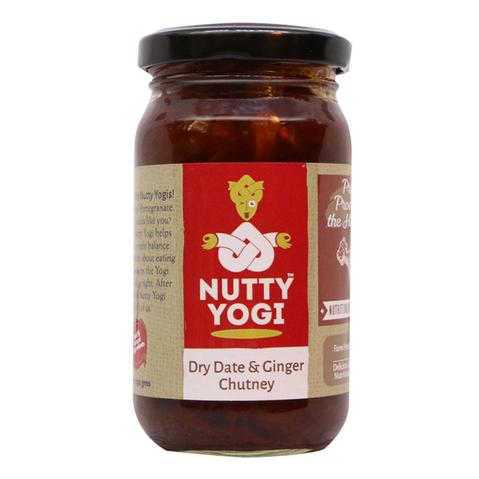 Dry Date and Ginger Chutney