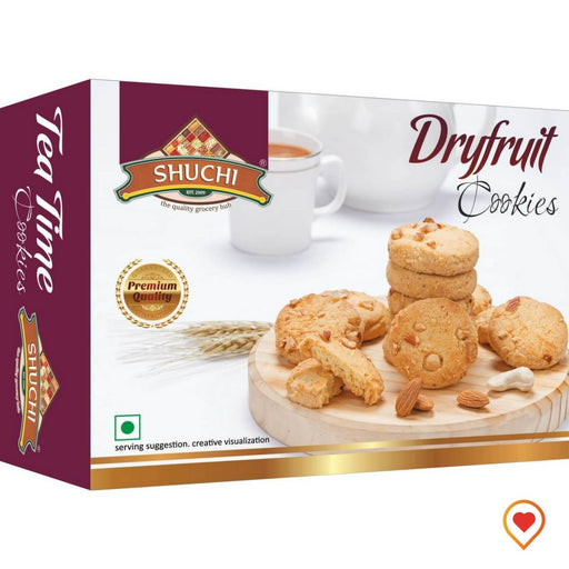 Dry Fruit Cookies-(200 g, Pack of 2)