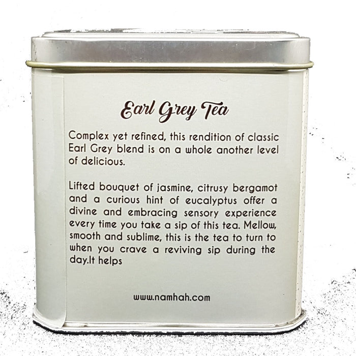Earl Grey Tea | Premium Tea Tin Box