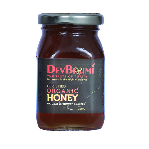 Certified Organic Honey