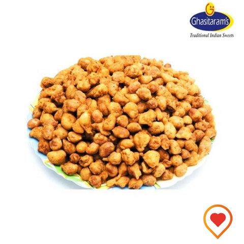 Premium quality peanuts rosted and coated with spices to give an amazingly crunchy and delicious flavour