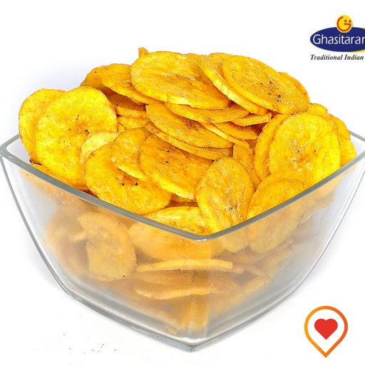 Yellow Banana(Kela) Wafer or pila kela wafer is popular all over. Crunchy in taste. Best breakfast snacks ideal food in traveling.