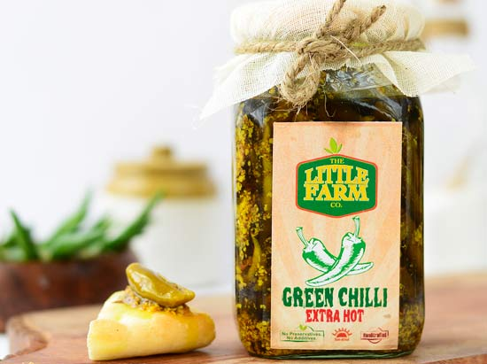 Green Chilli Extra Hot