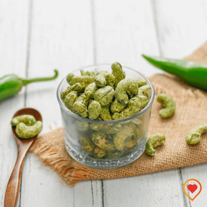 Green Chilli Cashews