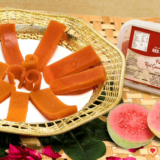 Guava fruit papad