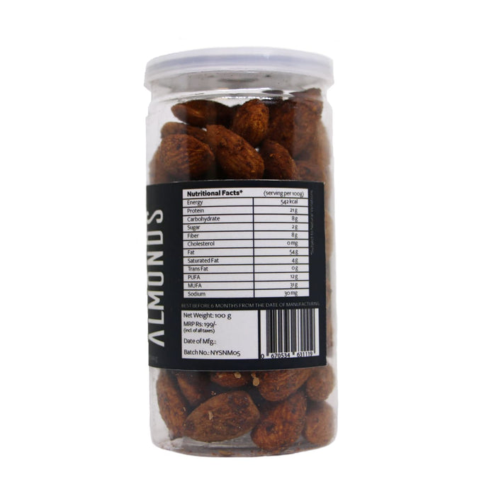 Hot Peri Peri Almonds