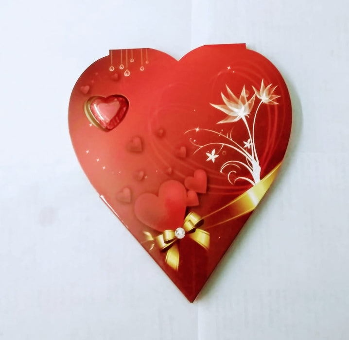 Chocolates Gift Box (Heart shaped paper board box)