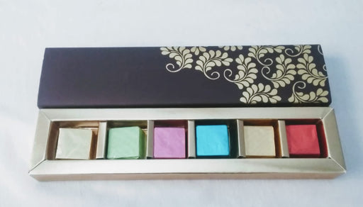 Chocolate Gift Box (6 Cavity Jewellary Chocolate Box)